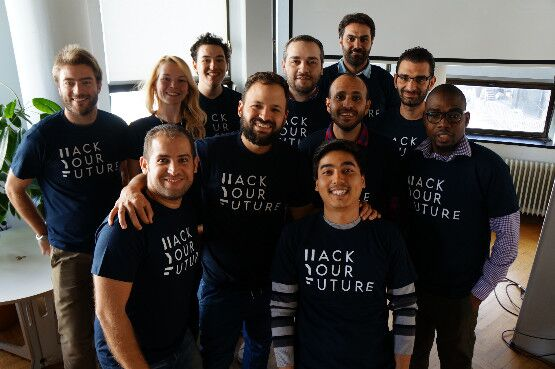 The first class of HackYourFuture Belgium